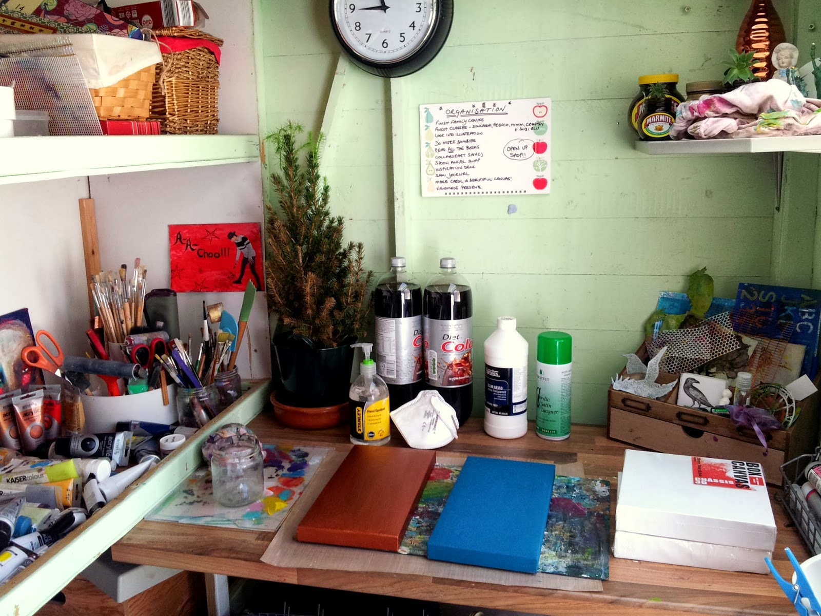 Whoopidooings: What's On Your Workdesk Wednesday, WOYWW
