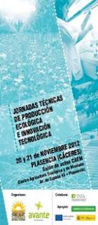 Jornadas técnicas de producción ecológica e innovación tecnológica