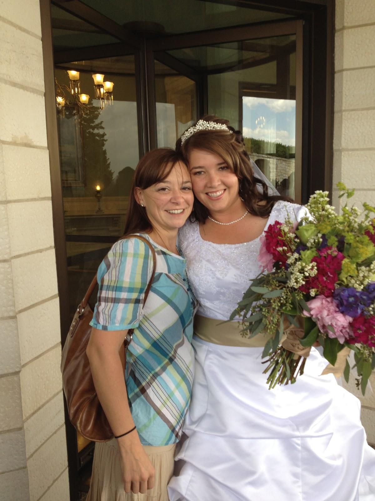 Wendy Will Ramble Cristys Wedding