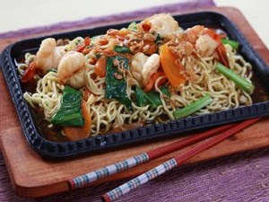 Resep Mie Hot Plate Udang