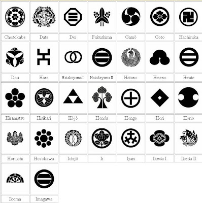 Japanese Heraldic Symbols