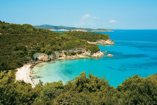 ionian sea greek islands landscape