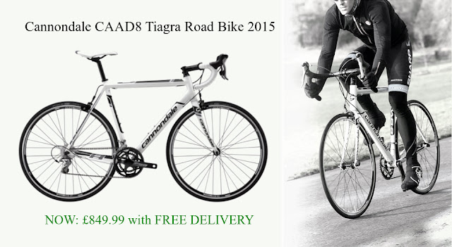 2015 Road Bike: Cannondale CAAD8 Tiagra