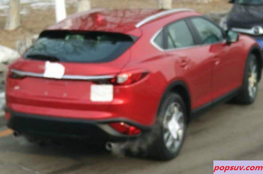 mazda s new cx 4 cx 6 or cx 7 coupe like compact suv spotted again. Black Bedroom Furniture Sets. Home Design Ideas