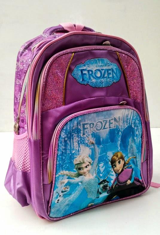 Tas ransel elsa frozen impor untuk anak sekolah