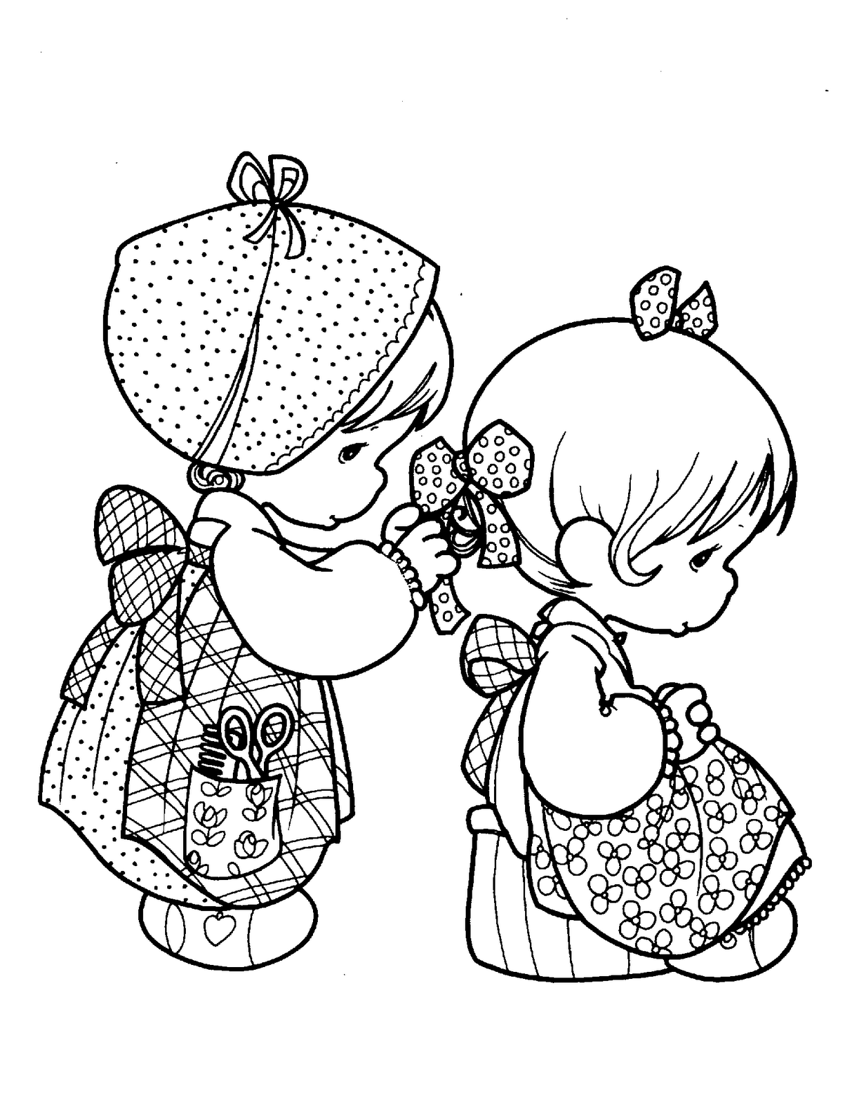 lyontarotden: Precious Moments for Love Coloring Pages