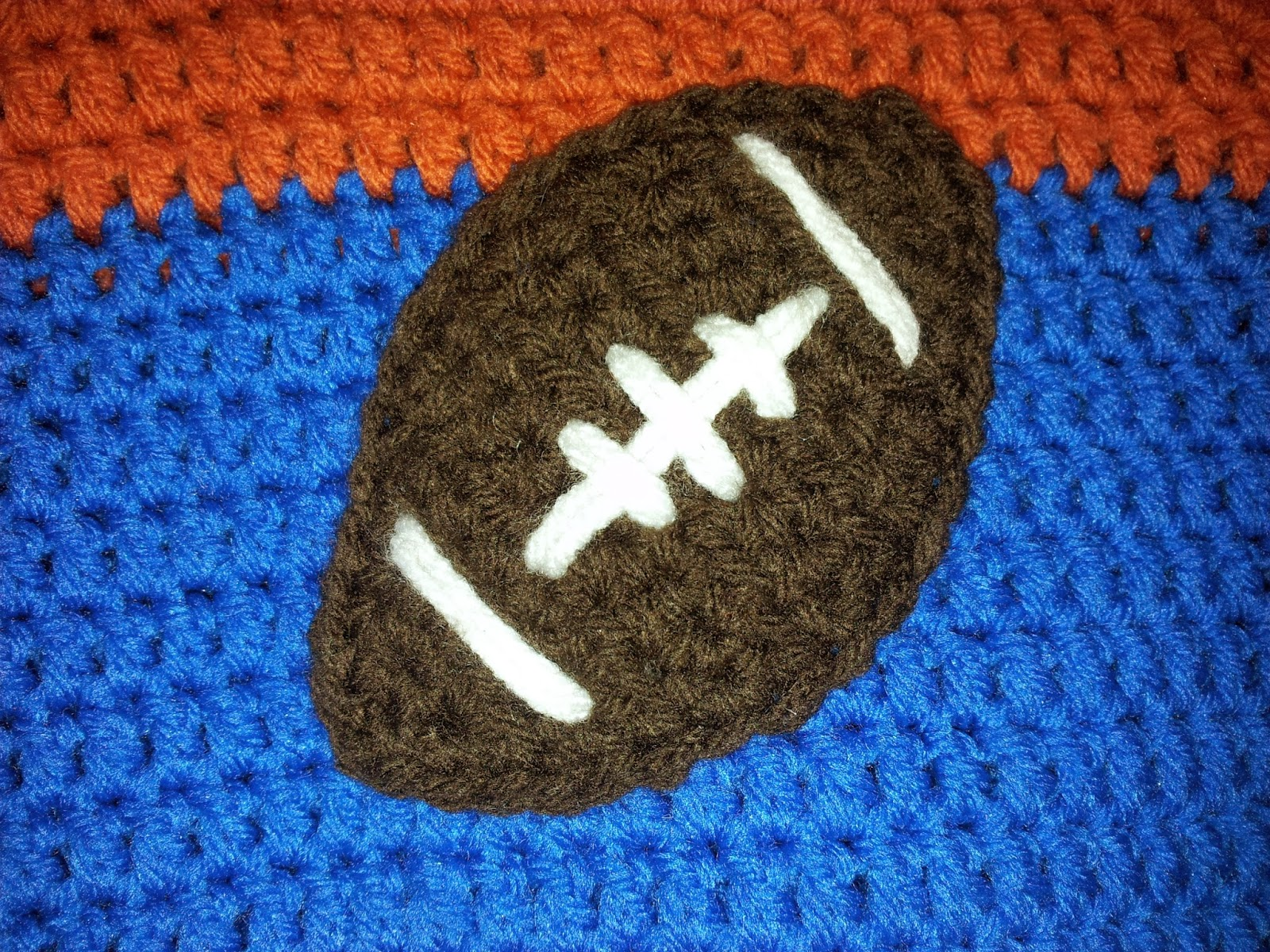 Cherishable Creations: FREE PATTERN - Football Applique