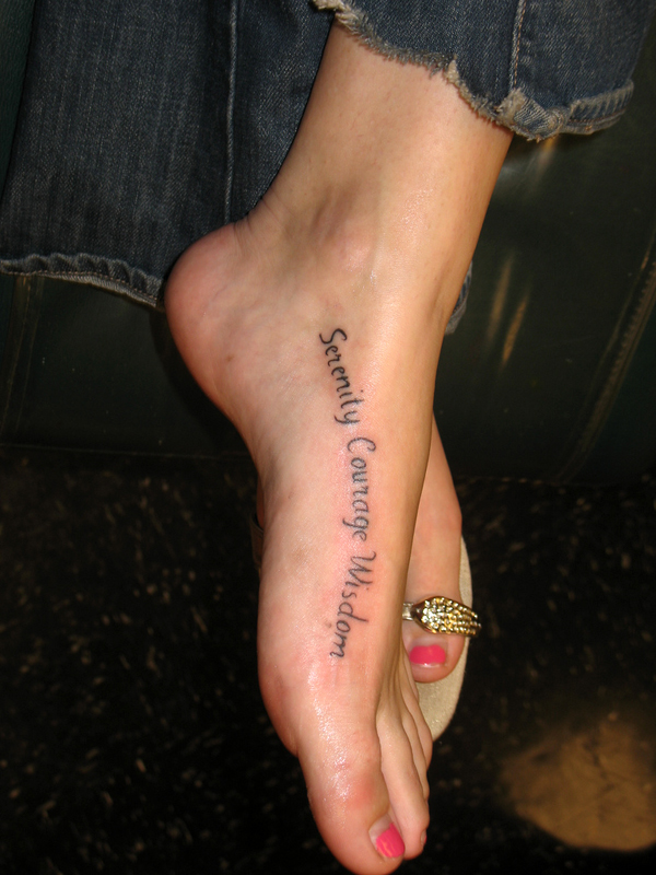 Tattoo Ideas Words One of the fastest and most popular trends right now