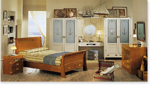 Dormitorios marineros para ni os dormitorios con estilo - Muebles estilo marinero ...