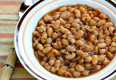 Slow Cooker Vegetarian Chipotle Baked Beans
