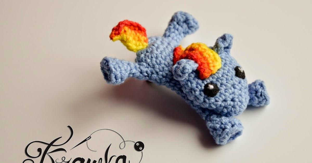 Krawka My Little Pony Crochet Hair Clip Free Pattern