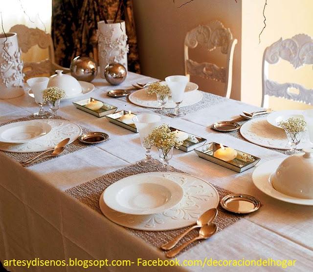 Como decorar mesas para navidad decoraci n del hogar - Decorar la mesa de navidad ...