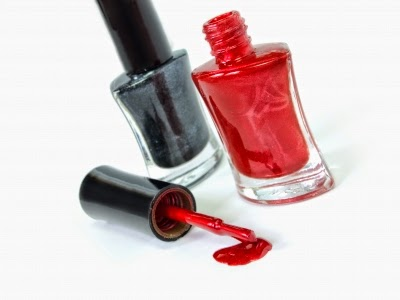 Clean your bottles and applicators using nail polish remover!
