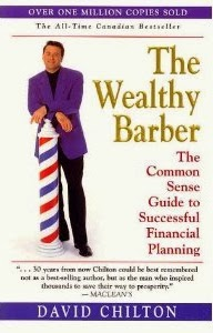 "The cover page of the Book ""The Wealthy Barber"""