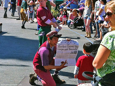 DCA Disney California Adventure Buena Vista Street Newsboys