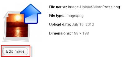 Edit Images in WordPress