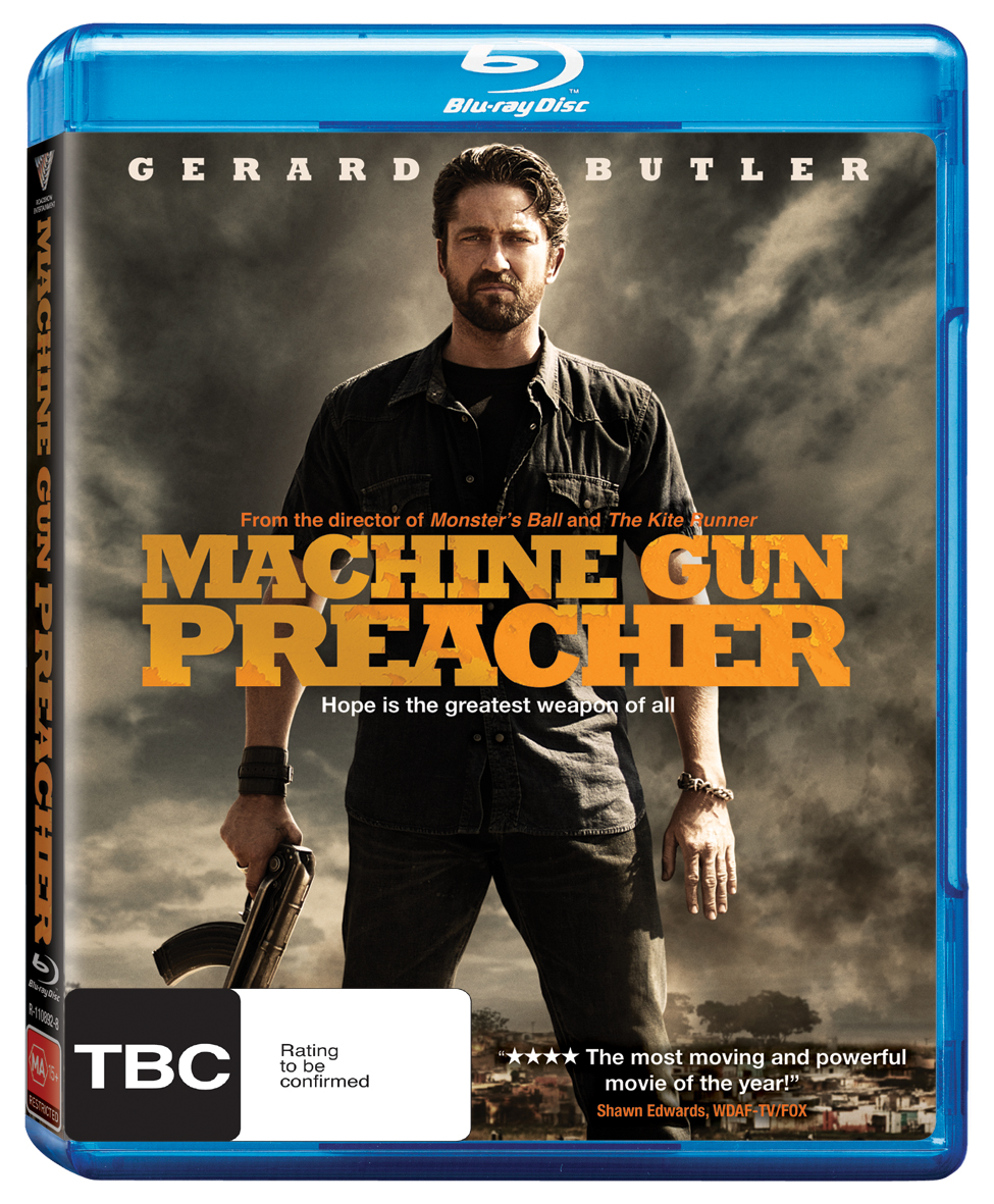 At Darren S World Of Entertainment Machine Gun Preacher Blu Ray
