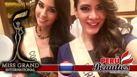 Primeras imágenes de Perú en Miss Grand International 2015