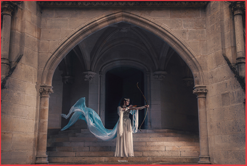 Chateau Camelot Séance Photos Photoshooting Medieval Fantasy French Castle