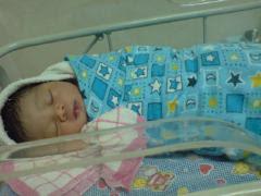 Newborn Farish Hafiy