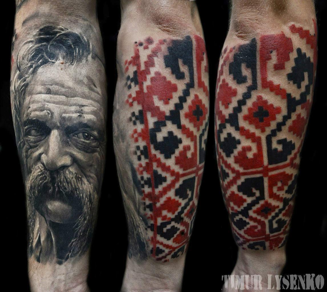 Фото татуировки орнамент, фото тату орнамент / Тату