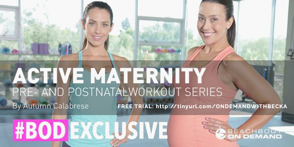 fit pregnancy and post natal streaming workouts free trial