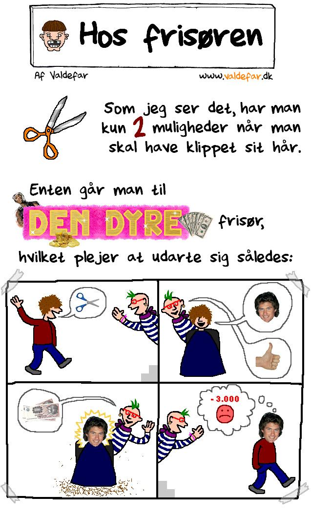 Sådan er det hos alle frisører i København