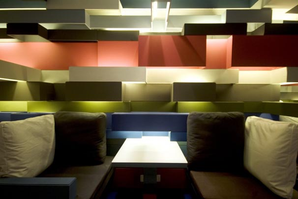 Modern Coffee Shop Design Interior Lighting Design