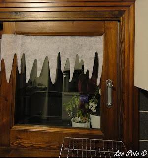 Les pois decorazioni di natale per finestre - Finestre di natale ...