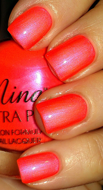 pearl peach shimmer