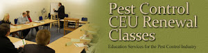 Pest Control CEU Classes