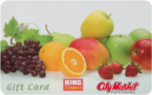 Shop with a reloadable King Soopers gift card