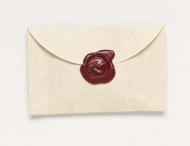 Wax Ring For Letters