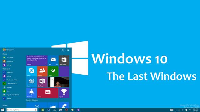 Windows 10 is the last version of windows cyber kendra for Microsoft windows latest version