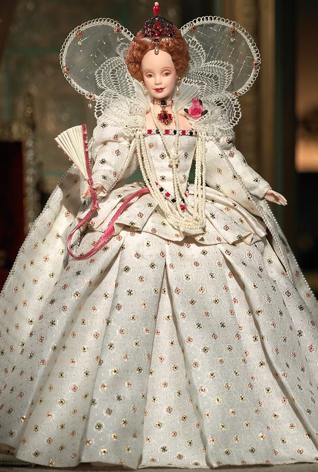 most wanted dolls barbie marie antoinette empress josephine queen elizabeth i women of royalty dolls - Barbie Marie