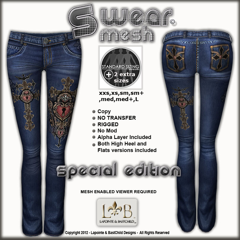 First out are some super sexy women's boot cut jeans!