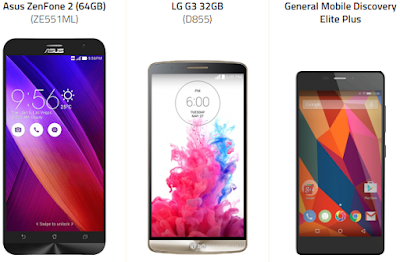 1300 TL'ye Kadar Android Telefonlar