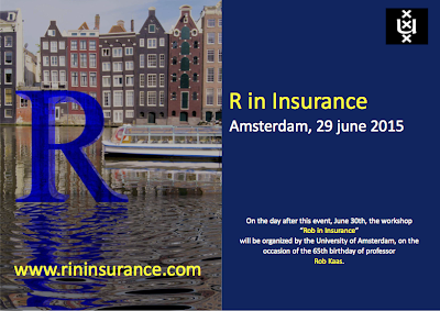 R in Insurance 2015: Registration Opened