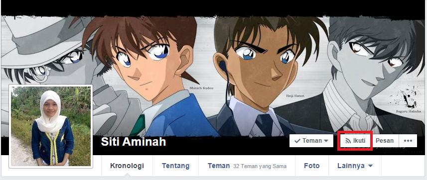 Cara Menampilkan Tombol Follow (Ikuti) di Facebook