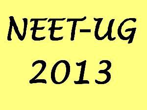 Vivek Mi: NEET UG 2013 Exam Dates and Result-www.cbseneet.nic.in