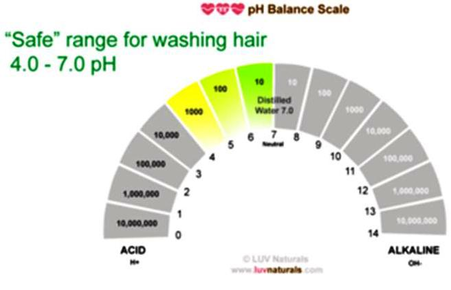 ph balance in shampoo essay Shampoo is a hair care product, typically in the form of a viscous liquid, that is  used for cleaning  he described the treatment in a local paper as the indian  medicated vapour  shampoos usually are at ph 55 because at slightly acidic  ph, the scales on a hair follicle lie flat, making the hair feel smooth and look shiny.
