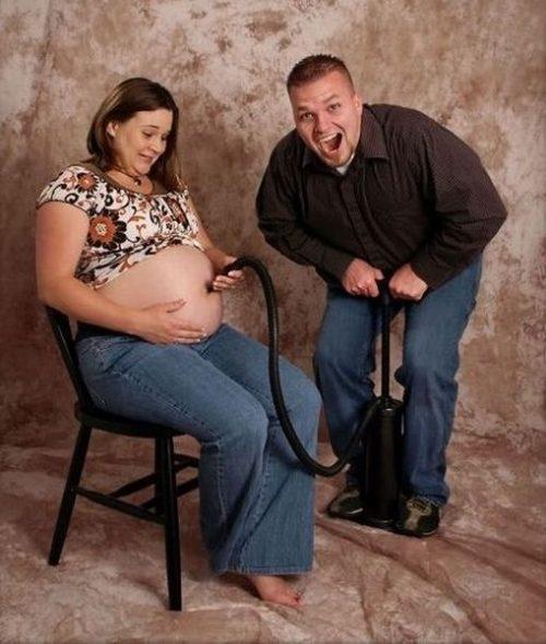 Funny pregnancy
