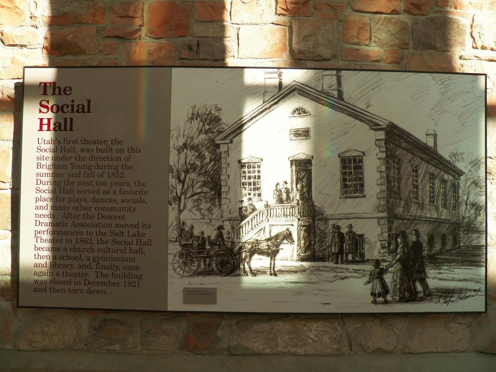 Foyer Museum Utah : Enjoy utah social hall heritage museum