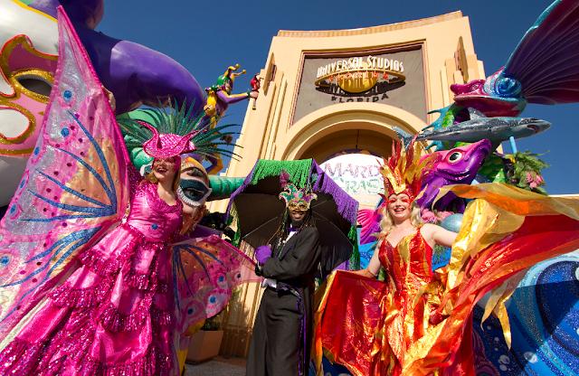 Mardi Gras na Universal Studios