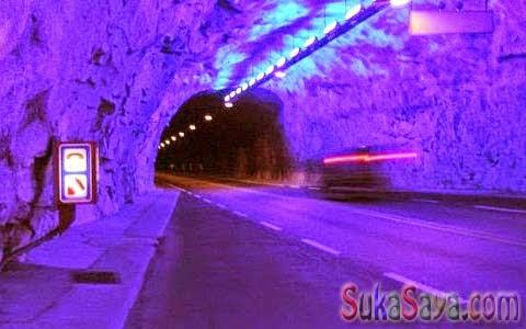 Terowongan Terpanjang Di Dunia
