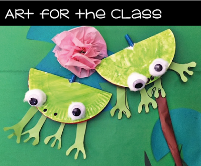 Frog Paper Plate Craft  sc 1 st  Art for the Class & Art for the Class: Frog Paper Plate Craft