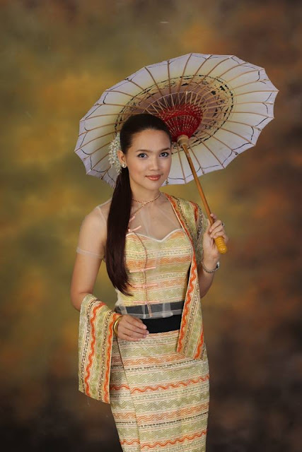 myanmar super model & actress