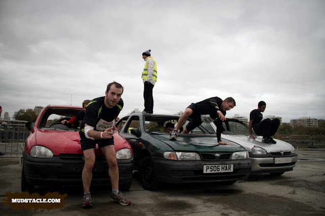 Cars at Survival of the Fittest London