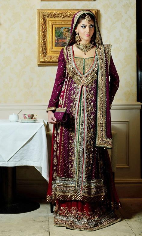Maira Khan Bridal Dresses By Pakistani Fashion Designers 2014 2015 Pakistan Fashion
