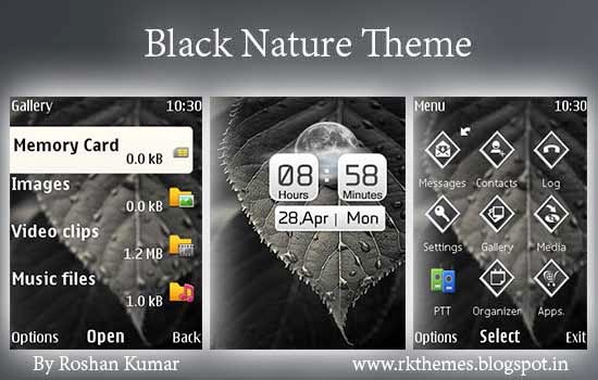 Theme with Media Player Skins